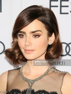 Actress Lily Collins attends the AFI FEST 2016 Presented By Audi - Opening Night - Premiere Of 20th Century Fox's 'Rules Don't Apply' at TCL Chinese Theatre on November 10, 2016 in Hollywood, California.