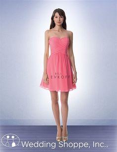 Bill Levkoff Bridesmaid Dress 947