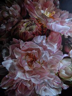 Marcella Kaspar_Heart Dialogue_167cmx122cm_oil on linen_2009