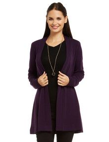 North South Merino Long-Sleeve Button Cardigan product photo
