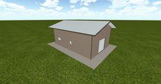 3D #architecture via @themuellerinc http://ift.tt/2oL2gMt #barn #workshop #greenhouse #garage #DIY