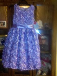 flower girl dress in my wedding for destiny jeffs grand daughter