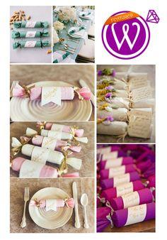 Wedding Favor Crackers - 21 Inspiring inspirations - www.weddzer.com