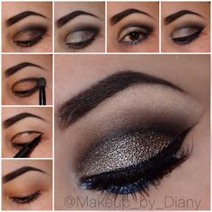 This grey cut crease smokey eye is perfect for any night out. Get this fabulous and easy look with a step by step how-to.