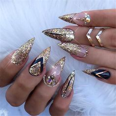 May 2019 - Glitter is the perfect way to spice up any nail design and make it instantly festive. Glitter nail art designs have become a constant favorite. Almost every gir Cute Acrylic Nails, Glitter Nail Art, Acrylic Nail Designs, Nail Art Designs, Sparkle Acrylic Nails, Popular Nail Designs, Pastel Nails, Nails Design, Design Art