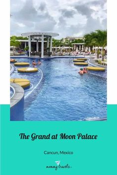 The Grand at Moon Palace a Cancun Resort is an awesome family-friendly all-inclusive resort. Cozumel, Cancun Mexico, Cancun Vacation, Cancun Resorts, Moon Palace Cancun, All Inclusive Family Resorts, Family Pool, Quintana Roo, Adventure Activities
