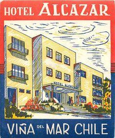 Hotel Alcazar ~ Vina Del Mar Chile