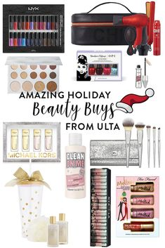The best Holiday Beauty Buys from Ulta! Perfect for gifts, a treat for yourself, or stocking stuffers!