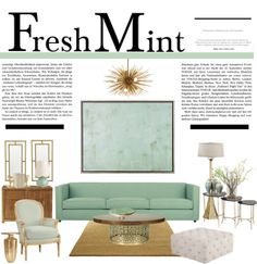 """""""Fresh Mint""""  This is something for the living room but you could also use the colors for the bedroom!!!"""
