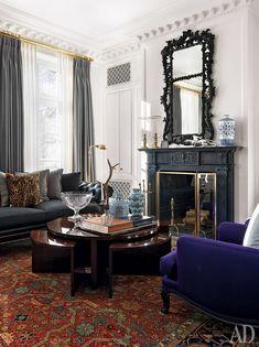 Интерьер с обложки: резиденция в американском стиле в Москве   AD Magazine