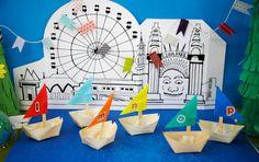 "fun crafting idea-- building a whole ""city"""