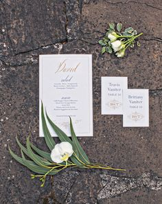 Personalized Menu & Escort Cards  Photography: Joy Marie Photography Read More: http://www.insideweddings.com/weddings/fairy-tale-outdoor-summer-wedding-at-a-vineyard-in-wine-country/1104/