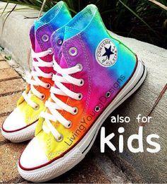 928fcba29adf TieDye Painted Shoes Custom Converse Sneakers Anime Fandom Custom Shoes