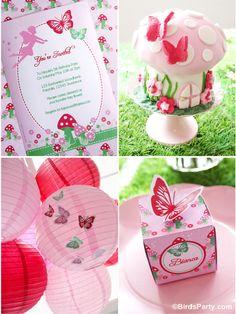 DIY Pixie Fairy Birthday Party by Bird's Party