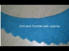 * HOW TO KNIT A DRAGON TAIL SCARF * - YouTube