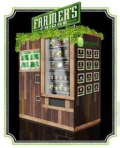 Farmer's Fridge: Innovative Vending Machines For The Health Conscious --- from InventorSpot.com --- for the coolest new products and wackiest inventions.