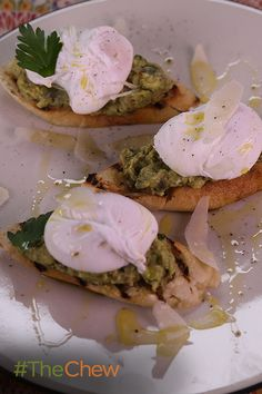 Michael Symon's Poached Eggs on Avocado Toast makes for a perfect, healthy start to any morning!