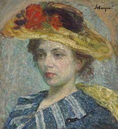 Henri Lebasque (1865-1937) | Femme au chapeau | Impressionist & Modern Art Auction | 20th Century, Paintings | Christie's