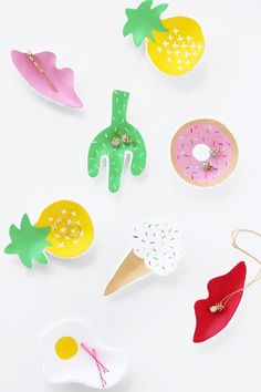 How to make cookie-cutter jewelry dishes that will make you smile every time you see them. #DIY