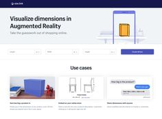 Size.link 利用擴增實境模擬物體尺寸,整合相機放到真實世界更準確 Use Case, Augmented Reality, Shopping