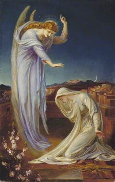 The Annunciation by Frederick James Shields.