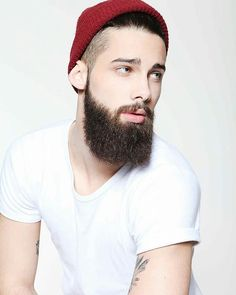No Words, Just beard - Beard of the Week Faded Beard Styles, Hair And Beard Styles, Hair Styles, Great Beards, Awesome Beards, Mens Facial, Facial Hair, Beard Beanie, Yves Saint Laurent