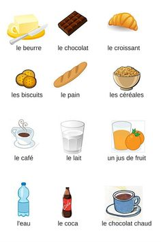 J'aime le français: VOCABULAIRE French Learning Books, French Teaching Resources, Learning English For Kids, Learning Italian, Teaching French, Basic French Words, How To Speak French, Learn French, French Language Lessons