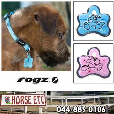 Horse ETC are authorised distributors of Rogz products, visit us to have an ID Tag custom made for your pet. If your pet gets lost, these ID tags will improve the chances of you being reconnected with your furry friend. #animalcare #rogz #ilovemypet