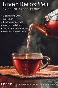 Liver Detox Tea : Best Tea For Liver Cleanse You Can Make At Home