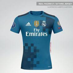 Real Madrid third jersey 17 18. Ignacio Álvarez · Camisetas futbol 4f8d5bb7cab