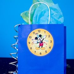 Mickey's New Year's Eve Countdown Bags