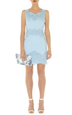 #KarenMillen #Cotton #Lace Panel #Dress (Front) - #ItsANiceDayForAWhiteWedding - #bridal #wedding #inspiration