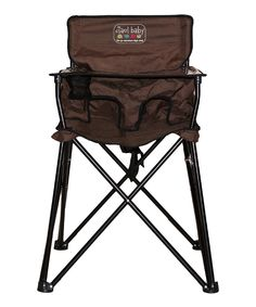 Camping high chair!! What?!? :-)
