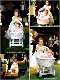 Essa vida de noiva!: Daminha no carrinho de bebê