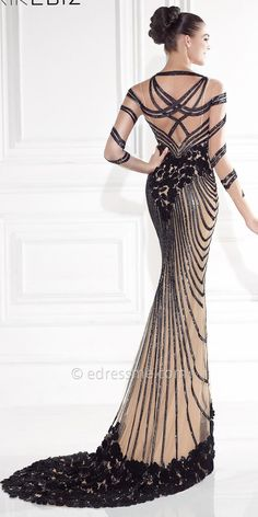 Classico Evening Dresses By Tarik Ediz