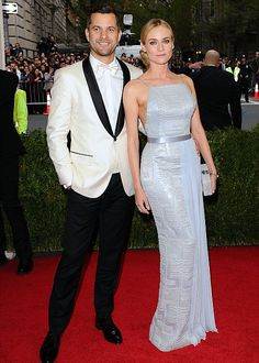 Power Couple-Diane Kruger  and Joshua Jackson Costume Institute benefit at the Metropolitan Museum of A...