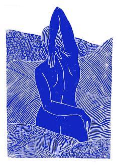 Surf Kunst, Art Inspo, Linocut Prints, Art Prints, Art Du Collage, Art Et Illustration, Illustrations, Grafik Design, Art Design