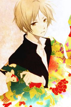 Natsume Takashi - Natsume Yuujinchou (Natsume's Book of Friends). Manga Cute, Manga Boy, Manga Anime, Boys Anime, Hot Anime Guys, Natsume Takashi, Animé Fan Art, Hotarubi No Mori, Otaku
