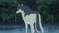 Post with 3690 views. The Wolf Children Ame and Yuki Screenshots Anime Demon, Anime Manga, Wolf Children Ame, Male Character, Beautiful Dark Art, Japanese Film, Anxiety In Children, Fantasy, Haikyuu Manga