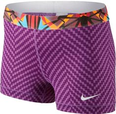 "Nike Women's 3"" Pro Compression Shorts spandex"