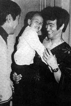 A great picture of Bruce with his son Brandon