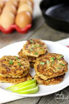 11 Savory Whole30 Breakfast Recipes you most definitely need in your life. | Homemade Turkey Apple Sausage Patties