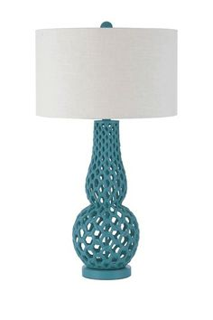 Chain Link Table Lamp by AF Lighting on @HauteLook