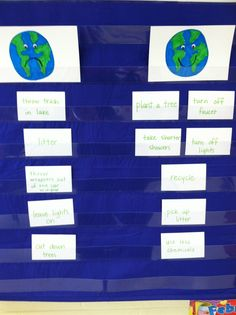 Mrs. Webster's Classroom Connections: Earth Day