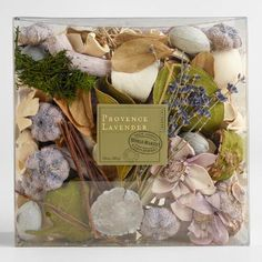 One of my favorite discoveries at WorldMarket.com: Provence Lavender Box Potpourri