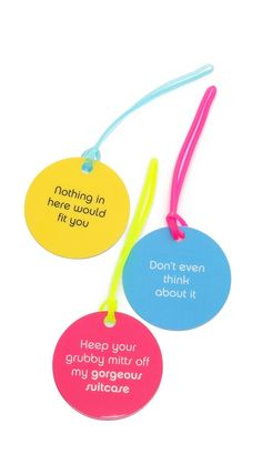 Funny luggage tags http://rstyle.me/n/i2twdnyg6