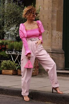 I Already Own Several Pink Purses, But I Have My Eyes on These Ones Pantone, Fashion Gal, Olivia Rose, Printed Maxi Skirts, Bubblegum Pink, Who What Wear, Summer Looks, Beautiful Outfits, Spring Outfits