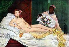 Eduardo Manet Olimpia 1863