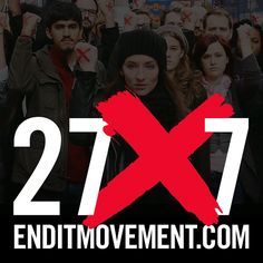 We are in it to END IT! Check out enditmovement.com to build your own 27x7 team of FREEDOM FIGHTERS today! #enditmovement