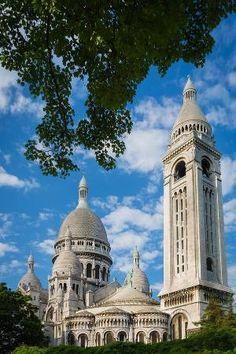 Towering Sacre-Coeur